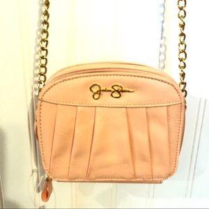 NWT JESSICA SIMPSON Pale Peach Patty Purse Bag